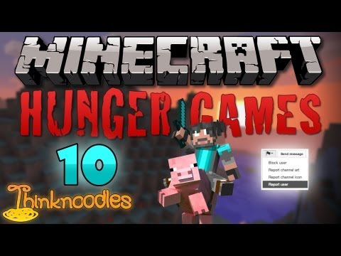 Minecraft: Hunger Games w/Thinknoodles - Game 10: Getting Reported on Forlorn! Travel Video