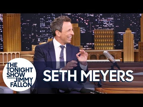 Seth Meyers Kicked a Family out of Their Home for His Fantasy Football Draft