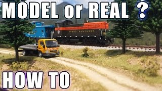 Realistic Scenery Volume 1 - Create scenery that looks real! - Model Railroads