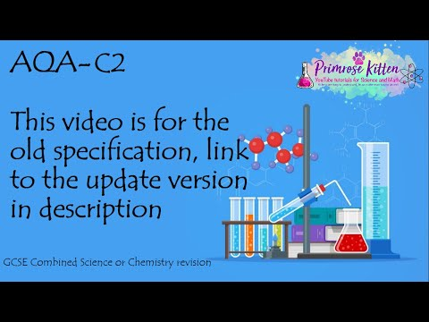 The whole of AQA C3 in only 32 minutes! GCSE chemistry or further additional science revision