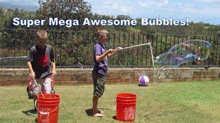 ohana 6 makes super mega awesome bubbles 17