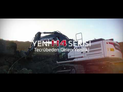 HİDROMEK Yeni H4 Serisi