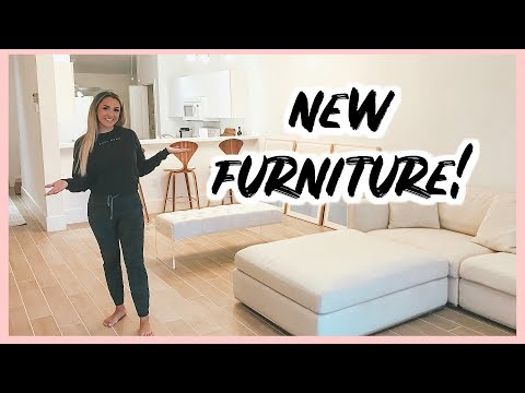 CONDO RENOVATION UPATE | FURNITURE IS HERE + TOUR!