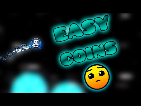 Easy Coins -Velocity (3 Coins) By Lugunium | Geometry Dash [2.0]