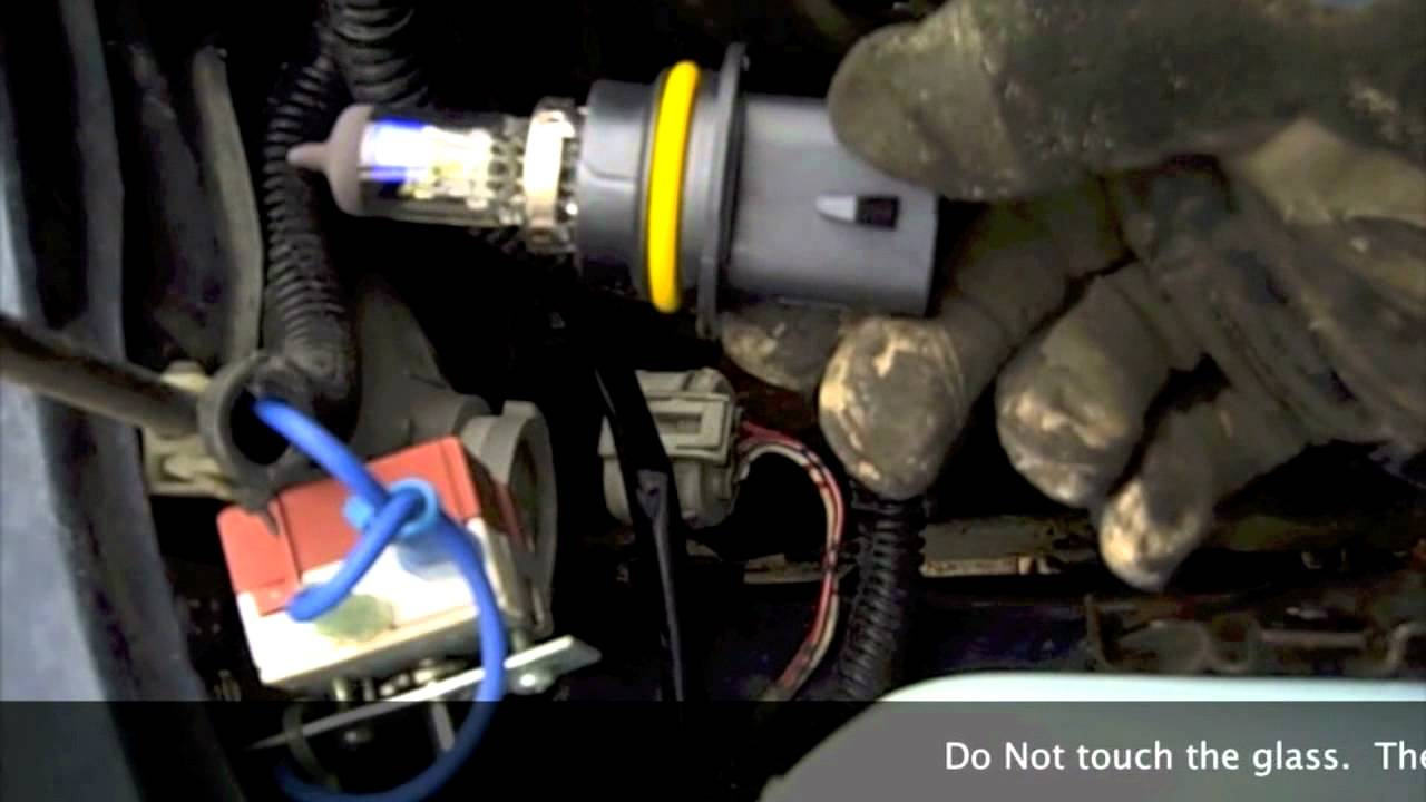 Car Headlight Bulb Diagram 50cc Four Wheeler Wiring How To Replace Headlights - Youtube