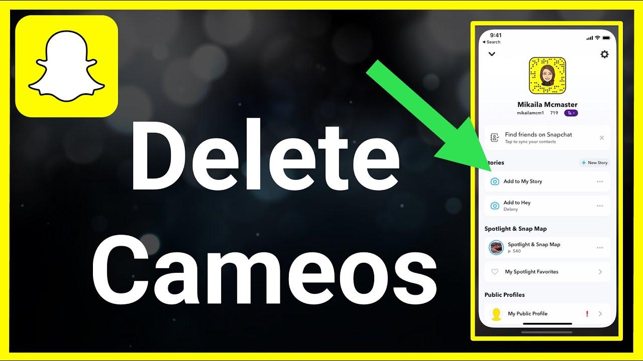 Snapchat Cameo App Guide: So löschen Sie Ihre Cameo in 22 Sekunden