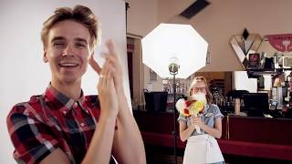 Waitress - Adelphi Theatre - Behind The Scenes, Joe Sugg Photoshoot