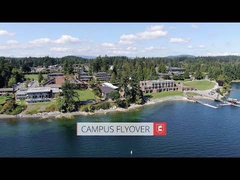 Campus Flyover - Brentwood College School