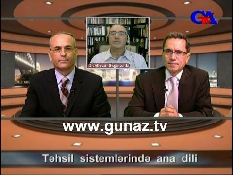 GünazTv Sep.12.2015 Təhsil sistemlərində ana dili (1)