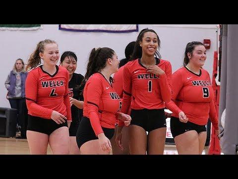 Wells College Women's Volleyball - NEAC Playoffs