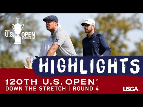2020 U.S. Open Highlights, Round 4: Action Down The Stretch