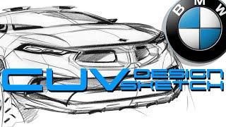 Car Sketch (BMW X5)