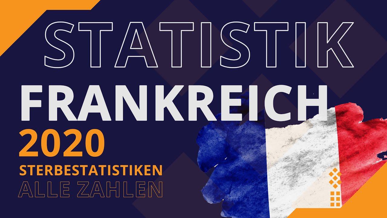 Sterbezahlen FRANKREICH - Übersterblichkeit? Krise? Katastrophe? Was sagen die Zahlen für 2020?