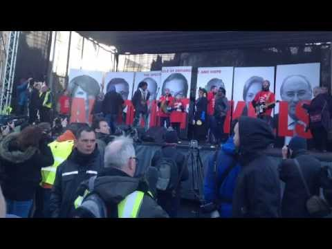 Right2Water Assembly 10/12/14, meeting of the Dublin 12 Groups and our march to the Dail.