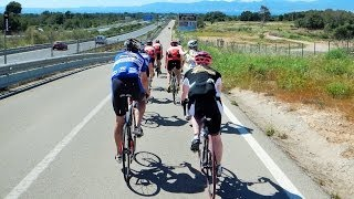 Mallorca Cycling Camp Video #1 Indoor turbo Trainer Workout 60 Minute Full HD Drift Camera