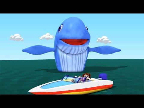 Big Blue Whale | Kindergarten Nursery...