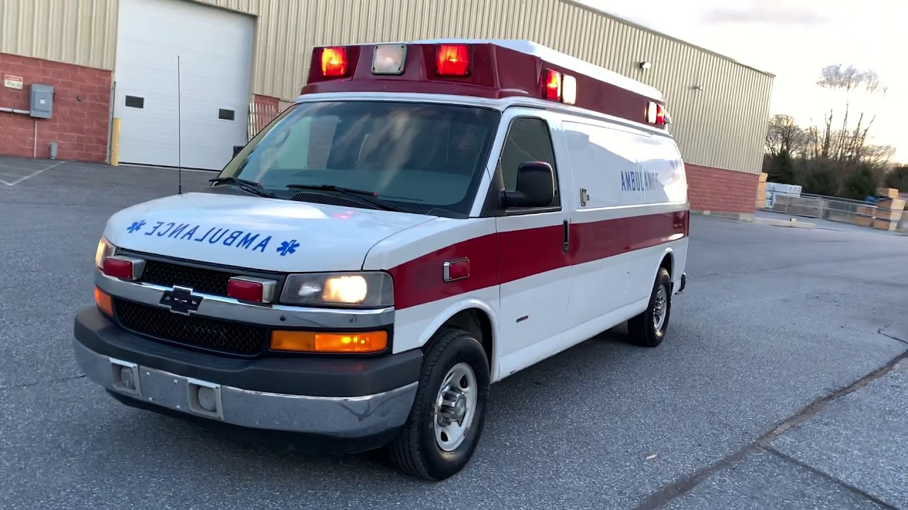 Used Ambulances for sale by Pilip Customs - 2009 Chevrolet G3500 Type 2  Marque Ambulance
