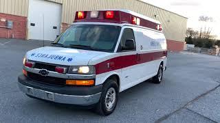 Used Ambulance For Sale - 2011 Ford E350 Type 2 Crusader Ambulance