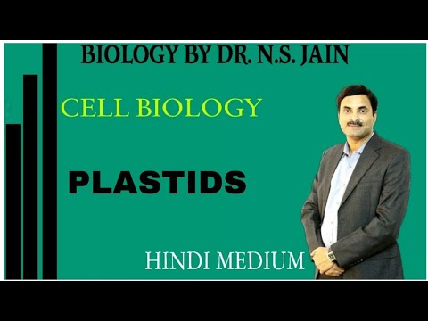 PLASTIDS (Cell Biology) for class 11+MEDICAL|Hindi medium