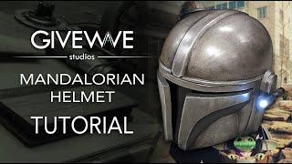 """Mando EVA foam Helmet DIY Kit from """"The Mandalorian"""" ( TUTORIAL )"""