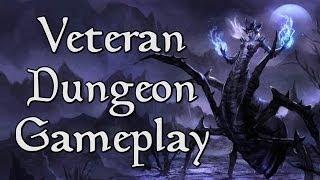 ESO Veteran Dungeon - Spindleclutch (Gameplay)