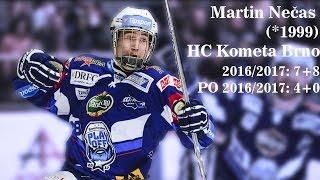 Martin Nečas: Kometa Brno 2016-2017