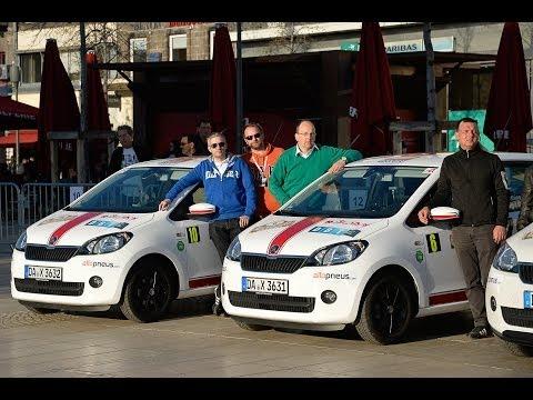 Rallye Monte Carlo 2014 Energies Nouvelles mit dem Skoda Citigo G-TEC