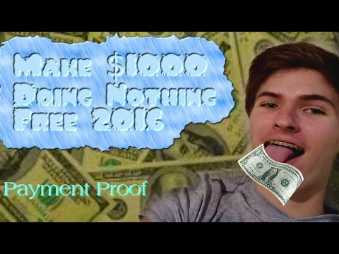 How to make money while you're at school, doing NOTHING!
