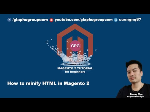 How to minify HTML in Magento 2