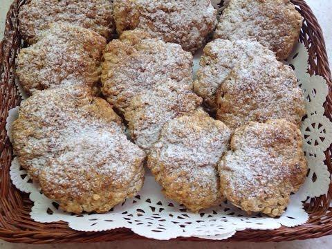 Постное овсяное печенье| Полезно и вкусно