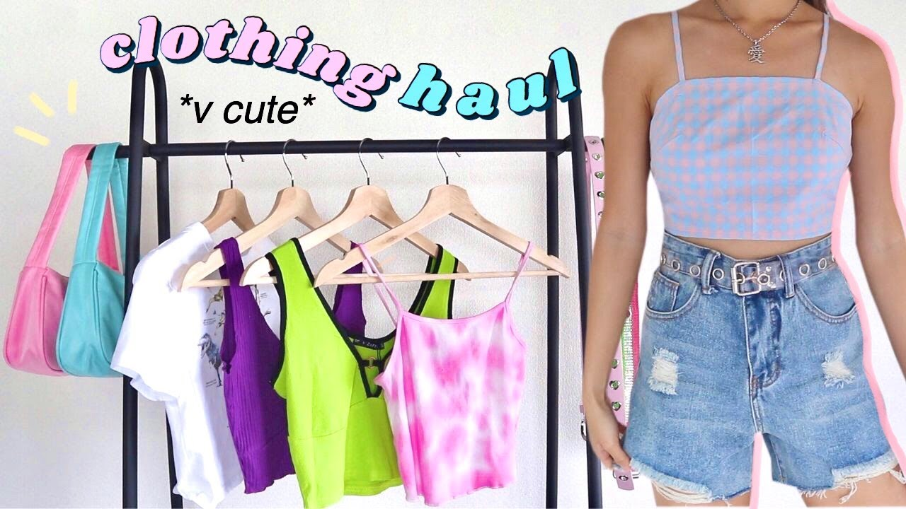 trendy try-on clothing haul 🎀 (philippines)