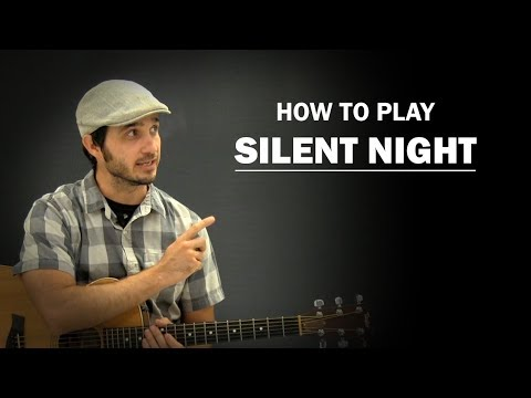 Silent Night | How To Play Christmas | Beginner Guitar Lesson