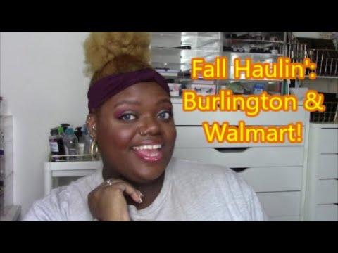 Fall Haulin: Burlington and Walmart!