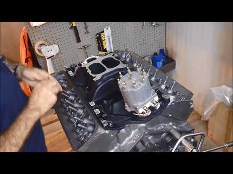 EngineQuest's IN350MB cast iron intake manifold