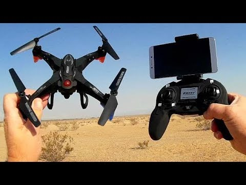 FQ777 FQ20W FPV Camera Drone WiFi Repeater Test Flight