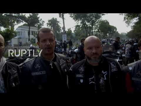 Brazil: Thousands join motorbike rally in support of Bolsonaro in Anhembi
