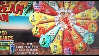 Ice Cream Man Video Keno Slot Machine Free Games- Big Win!!!