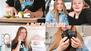 a day in my life !! (productive, healthy & fun)