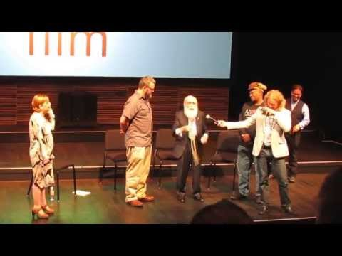 James Randi interview at the Kentucky Center For the Arts, October 3rd, 2014, Part 1