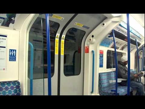 Victoria Line 2009TS - From Highbury & Islington to Oxford Circus