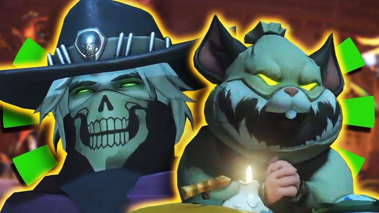 Overwatch Halloween 2020 Hammond Overwatch   *NEW SKINS* MCCREE & HAMMOND Pumpkin / Undead