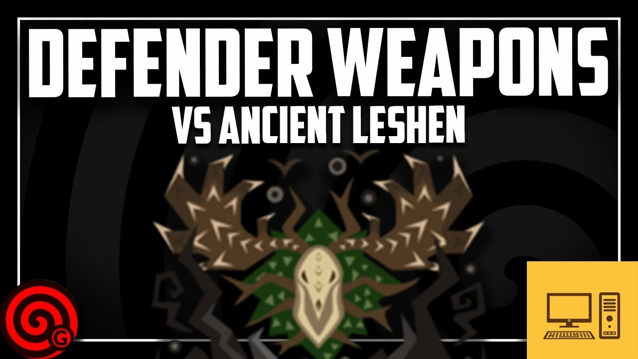 PC STREAM: ANCIENT LESHEN - Helping Hunters | Monster Hunter World thumbnail