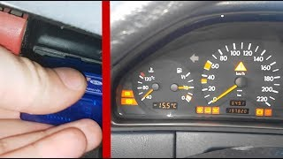 Resetting error Check Engine Mercedes W210 / Diagnosis and resetting errors on Mercedes W210