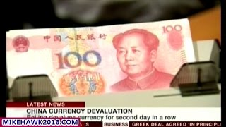 China Devalues Currency For A Second Time In 24 Hours!