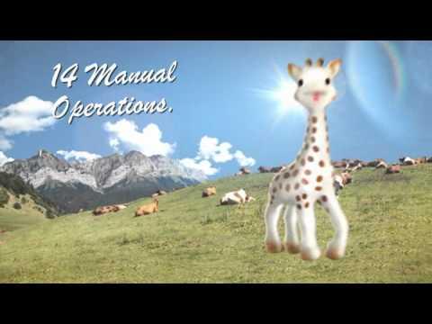 Sophie la Girafe Мека гризалка So pure #zEZFV59PkhY