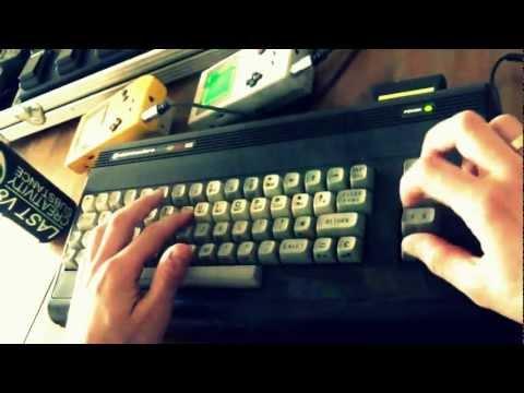 The Last V8 (Rob Hubbard, 1985) ?️ - C64 LIVE REMIX [LukHash]