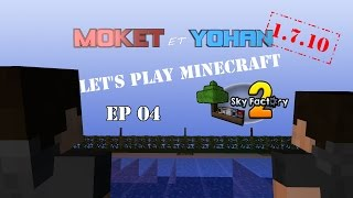 minecraft 1 7 10 modpack sky factory 2 atlauncher ep04 fr au boulot les turtles