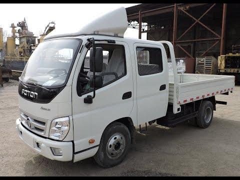 Бортовой грузовик Foton Aumark (Китай), г/п 3 т, 2-хрядная кабина - обзор в Алматы