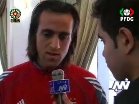 Ali karimi interview in Perspolis vs. Bayern