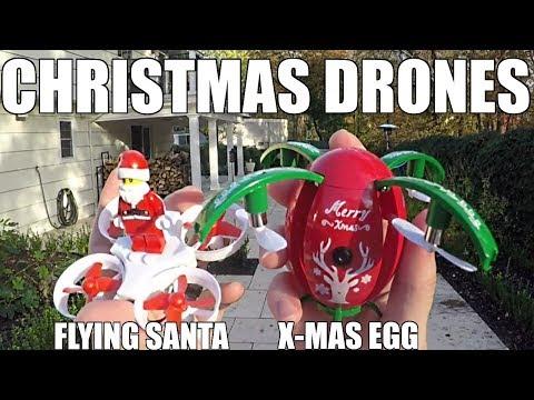 JJRC H67 Flying Santa & JJRC H66 X-MAS Egg Christmas Drones 🎅